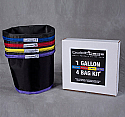 Boldt Bags 1 Gallon 4 Bag Kit